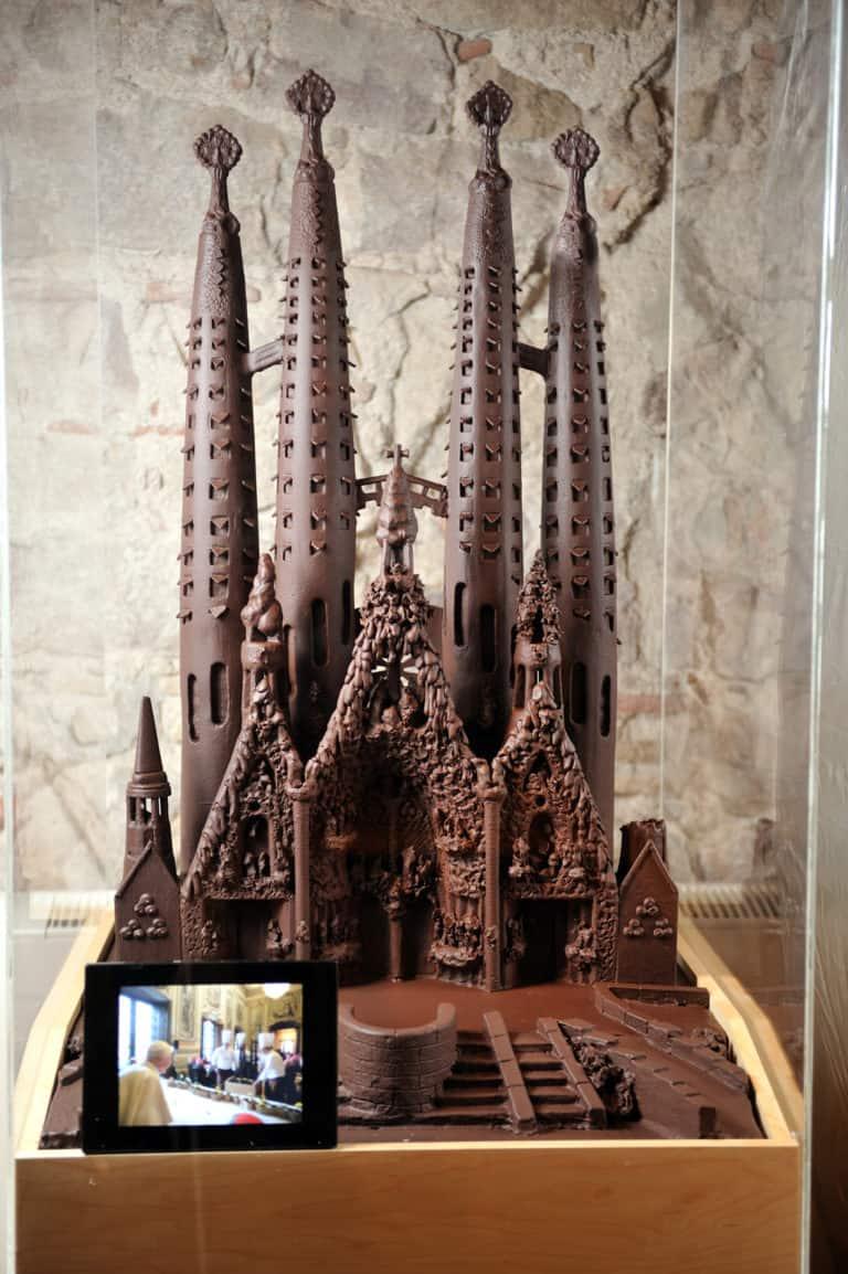 Экскурсия в музей шоколада в Барселоне